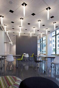 LeRoy Neiman Center by Valerio Dewalt Train Associates, Chicago #ceiling