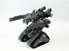 One Touch Transformable RC TANK: A LEGO® creation by GYUTA K. : MOCpages.com