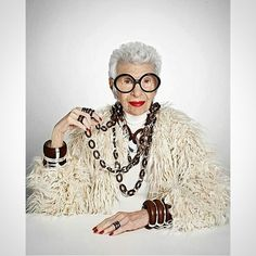 Again, may I present: EVERYTHING! #MsIris  REPOST from @iris.apfel #tane #itisbytane #tane_mx