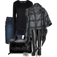 """Smoke and Coal"" by orysa on Polyvore"