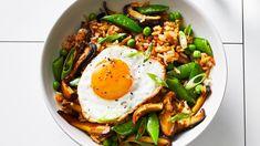 Easy Vegetarian Dinner, Vegetarian Breakfast Recipes, Vegetarian Meals, Meat Meals, Vegetarian Options, Rice Recipes, Asian Recipes, Savoury Recipes, Chinese Recipes