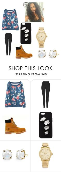 """""""hiiiii"""" by bae03 on Polyvore featuring Topshop, Timberland, STELLA McCARTNEY and Michael Kors"""