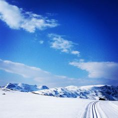 Storlidalen, Norway, skiing, wintersun, nature, snow