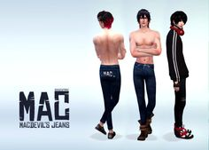 Sims 4 CC's - The Best: Jeans by Manueapinny