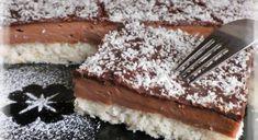 NEODOLATEĽNÉ KOKOSOVÉ REZY S pudingovým krémom - Recepty od babky Sweet Desserts, Sweet Recipes, Something Sweet, Graham Crackers, Nutella, Love Food, Food And Drink, Cooking Recipes, Sweets