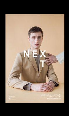 Next expérience #creative #design #poster