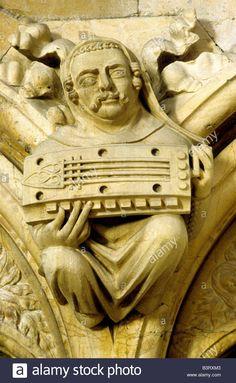 Medieval musician Hurdy Gurdy Beverley Minster musicians music musical…
