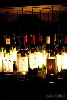 20 Wine Bottle Light Chandelier on metal by ByGordonLiving on Etsy