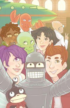 to the world of tomorrow! Cartoon Tv, Cartoon Drawings, Sci Fi Comedy, World Of Tomorrow, Adult Cartoons, Anime One, Cool Art, Awesome Art, Awesome Stuff