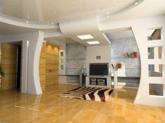 Salas de estar y decoraciones en yeso – chispis.com