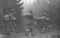 rhineland bastards | The 320th in the Ardennes, December 1944.