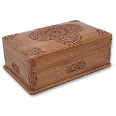 Novica Medallion Jewelry Box