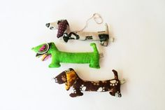Plush Stuffed WIENER Dog Handmade Scented Animal with by tukaltd, $11.00
