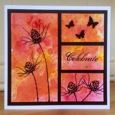 """Lavinia Stamps – July Challenge """"ADD A FLOWER OR FLOWERS"""""""