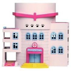 "Puppy In My Pocket ""Pocketville Hospital"" playset (U.K.)"