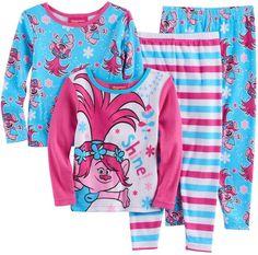 698aca8bf9 DreamWorks Toddler Girl DreamWorks Trolls Poppy 4-pc. Pajama Set Pajama Set