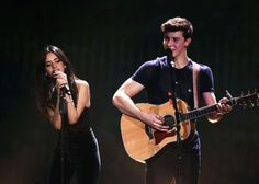 Watch Shawn Mendes and Camila Cabello Almost Kiss While Getting Flirty on Stage - Seventeen.com
