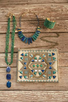 Summer accessories should pack a tropical punch. Just the long, necklace Summer Accessories, Jewelry Accessories, Fashion Accessories, Fashion Jewelry, Chicos Fashion, Tibetan Jewelry, Chicos Jewelry, Soft Autumn, Jewelry Crafts