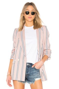 5a38cc24885 Free People Uptown Girl Blazer in Rose