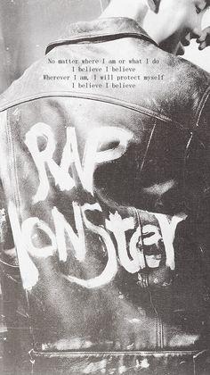 RM, he is no longer rap monsters Jung Hoseok, Kim Namjoon, Seokjin, Rapmon, Foto Bts, Bts Photo, Bts Wallpaper Lyrics, K Wallpaper, Bts Bangtan Boy