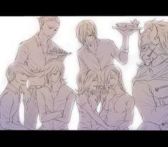one piece. vinsmoke. family