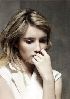 Great shot of Emma Roberts. Girl Crush on her!!
