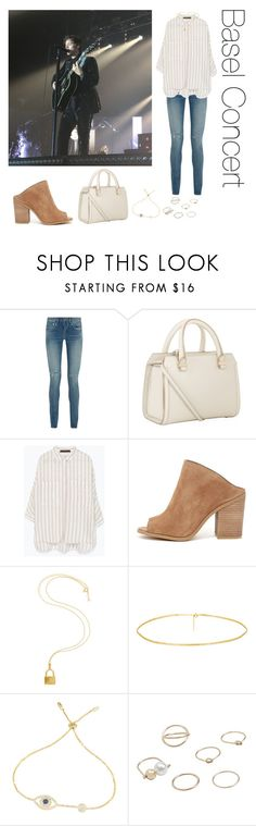 """Basel Concert"" by whoworethat ❤ liked on Polyvore featuring Yves Saint Laurent, Victoria Beckham, Zara, Steve Madden, Lira and MANGO"