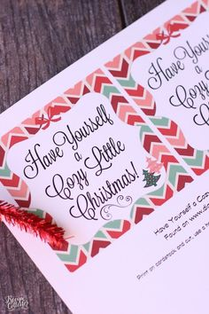 Cozy Little Christmas Tag and Blanket Gift Idea - Perfect gift idea for teachers, friends, and family. Two Christmas tag options FREE to print. christmas gifts for teachers Neighbor Christmas Gifts, Crochet Christmas Gifts, Christmas Poems, Christmas Gifts For Friends, Christmas Gift Tags, Xmas Gifts, Cheap Christmas, Neighbor Gifts, Cozy Christmas