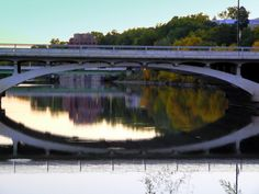 University of Iowa campus - Iowa River...it's not lake Michigan...BUT I'LL TAKE IT! <3