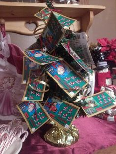 Scratch ticket tree yankee swap gift :)
