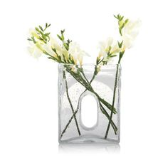 Dot & Bo Hip To Be Square Vase ($37) ❤ liked on Polyvore featuring home, home decor, vases, mini vases, miniature vase, tulip vase and square vase