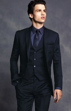 I Love Men In Suits..Tias feel free to dress like this everyday to work when you're older:)