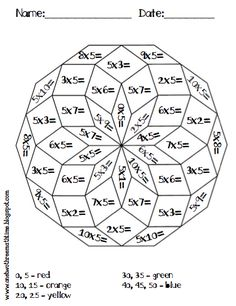 math worksheet : multiplication multiplication worksheets and worksheets on pinterest : Math Multiplication Coloring Worksheets
