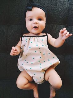 Nobodinoz Romper. Too cute to pass up. #ladida #ladidakids ladida.com