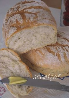 Novice Sef: Home-Made (Machine-Free) Bread Making . Perfect Pancake Recipe, How To Make Bread, Bread Making, Tasty, Yummy Food, Food Website, Turkish Recipes, Food Design, Bread Recipes