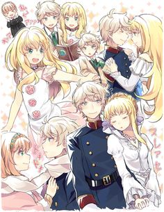 Aldnoah Zero — Slaine and Princess Asseylum Vers Allusia