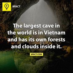 Largest cave The Hang Son Doong cave in Quang Binh Province, Vietnam