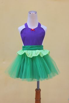 ARIEL tutu Apron mermaid dress up apron by loverdoversclothing, $26.00