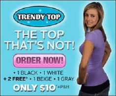 Trendy Top |  2846+ As Seen on TV Items: http://TVStuffReviews.com/trendy-top