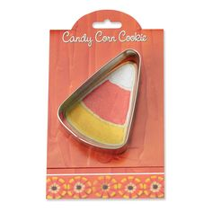 Candy Corn Cookie and Fondant Cutter - Ann Clark - 4 Inches - US Tin Plated Steel >>> Quickly view this special product, click the image : Baking Accessories