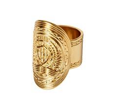 Balmain x H&M ring, $17.99 Photo: H&M.