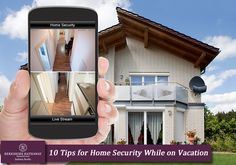 Don't miss these 10 tips for home security while on vacation!
