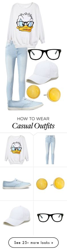 """Pastel Casual (hey look I'm not dead)"" by midnight-fox on Polyvore featuring Frame, Vans, Sole Society, Muse and Kate Spade"