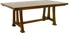 Walden Table, Dining Tables, Canal Dover Furniture, Mission Furniture