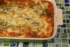 Low Carb Chicken Eggplant Lasagna. Believe me you won't miss the pasta.