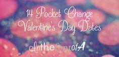 14 Pocket Change Valentine's Day Dates