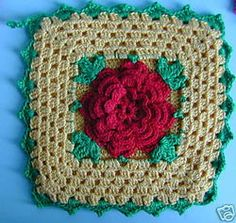 Crocheted Potholders like Mom made
