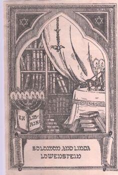 Typical Jewish Bookplate