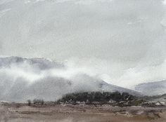 Arie Jekel | Lommond Hills | Watercolor