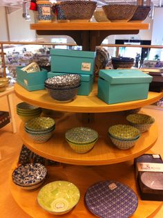 Beautiful bold designs and fresh colour combos - I'm a big fan of blues and greens... TKMaxx / Homesense